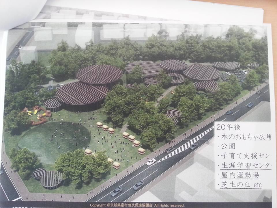 守谷駅周辺の未来像